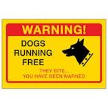 Yellow Dogs Running Free, They Bite...