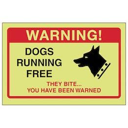 GITD Dogs Running Free, They Bite...
