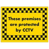 These Premises are Protected by CCTV