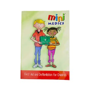 Mini Medics® First Aid and Defibrillation For Children Book