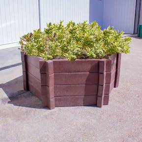 Hexagonal Planters - Without Base - 750mm