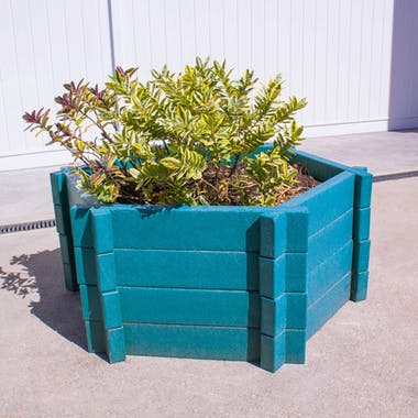 Hexagonal Planters - Without Base - 1000mm