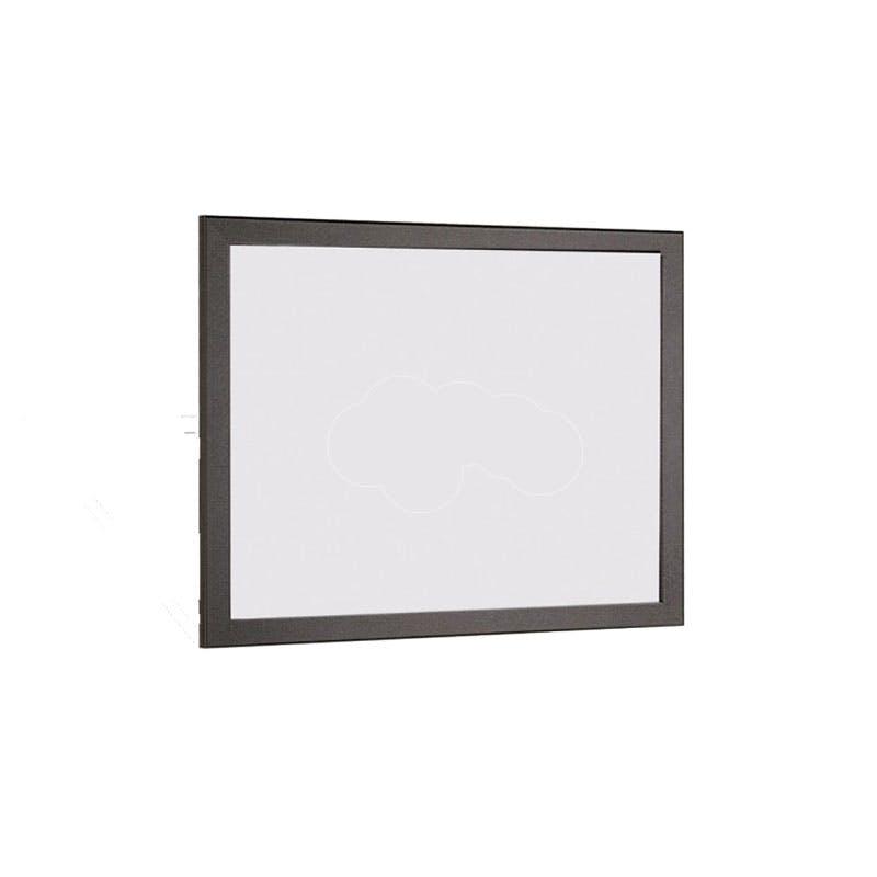 Budget Black Framed Non-Magnetic Whiteboards