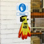 Gloves PPE Station