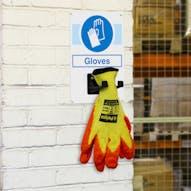 Gloves PPE Station
