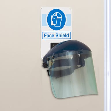 Face Shield PPE Station