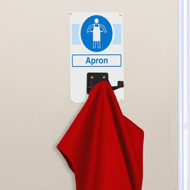 Apron PPE Station