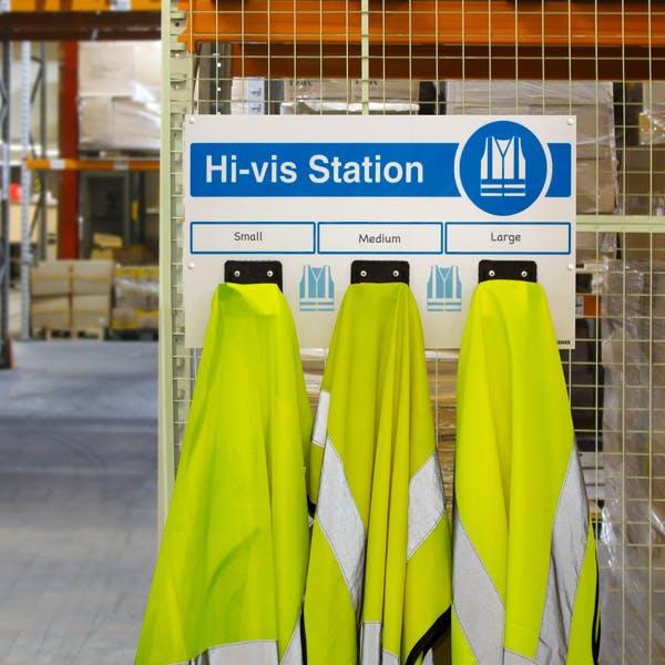PPE Hi-Vis Station