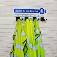 PPE Visitor Hi-Vis Station