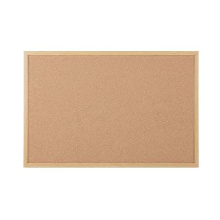 Bi-Office Oak Framed Cork Boards