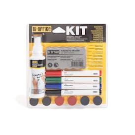 Bi-Office Magnetic Whiteboard Kit