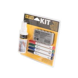 Bi-Office Non-Magnetic Whiteboard Kit