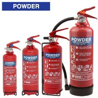 Firechief Powder Fire Extinguishers
