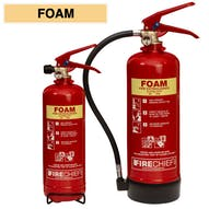 Firechief Foam Fire Extinguishers