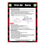First Aid Pocket Guide - For Burns