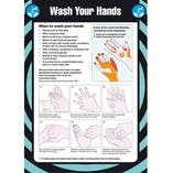 First Aid Pocket Guide - Wash Hands