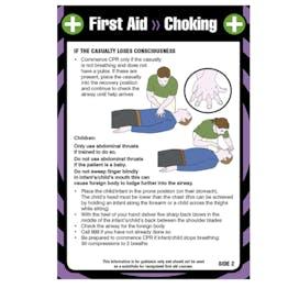 First Aid Pocket Guide - Choking