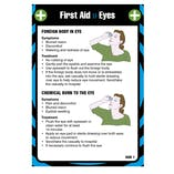 First Aid Pocket Guide - For Eyes