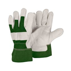 Briers Reinforced Rigger Green Gloves