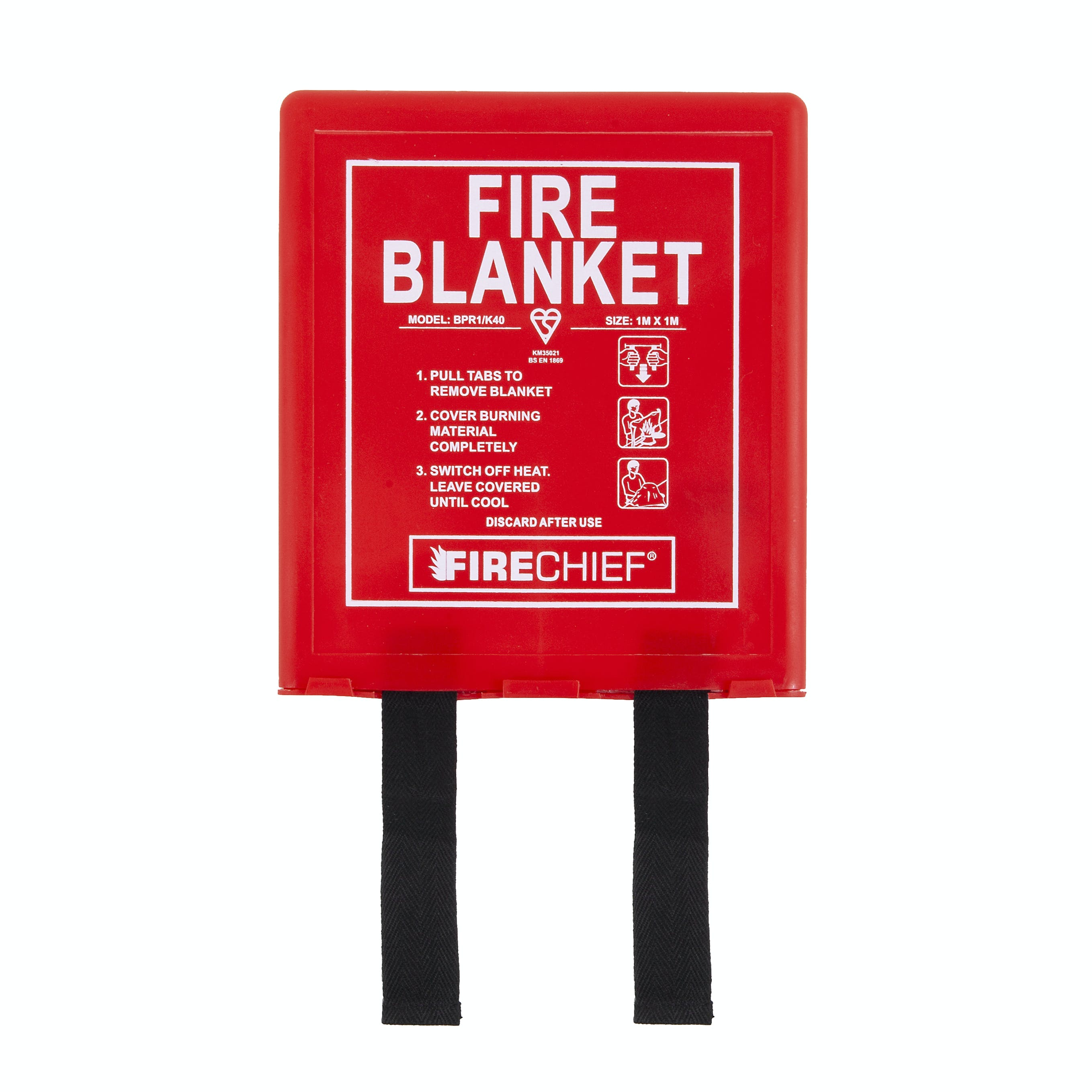 Firechief Fibre Glass Cloth Fire Blanket