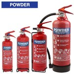 Firechief Powder Fire Extinguishers