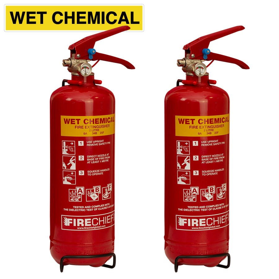 Firechief Wet Chemical Fire Extinguishers
