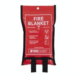 Firechief Soft Case Woven Cloth Fire Blanket