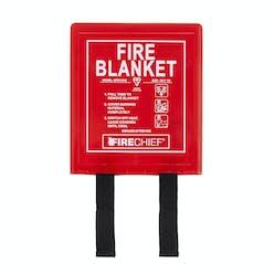 Firechief Fibre Glass Cloth Fire Blanket