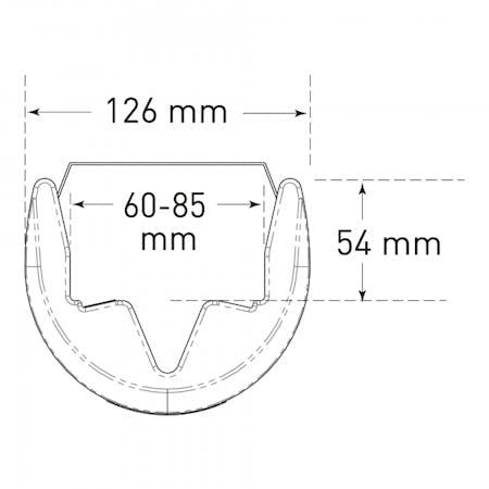 TRAFFIC-LINE Pallet Racking Protectors - Plastic
