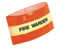 Glow In The Dark Fire Warden Armband