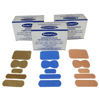 EurekaPlast Assorted Plaster Pack