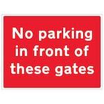 Aluminium Parking Signs