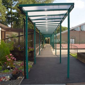 Entrance Shelters & Walkways