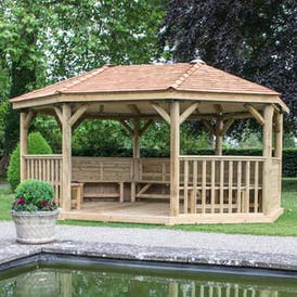 Wooden Shelters & Canopies