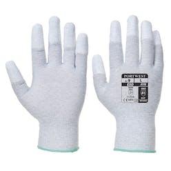 Portwest A198 Antistatic PU Fingertip Gloves