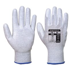 Portwest A199 Antistatic PU Palm Gloves
