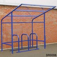 Edinburgh Cycle Shelter