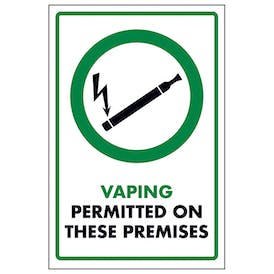 Vaping Permitted On These Premises