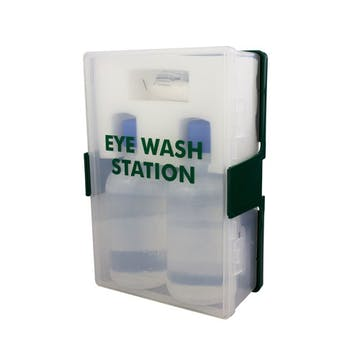 Eyewash Station with Contents