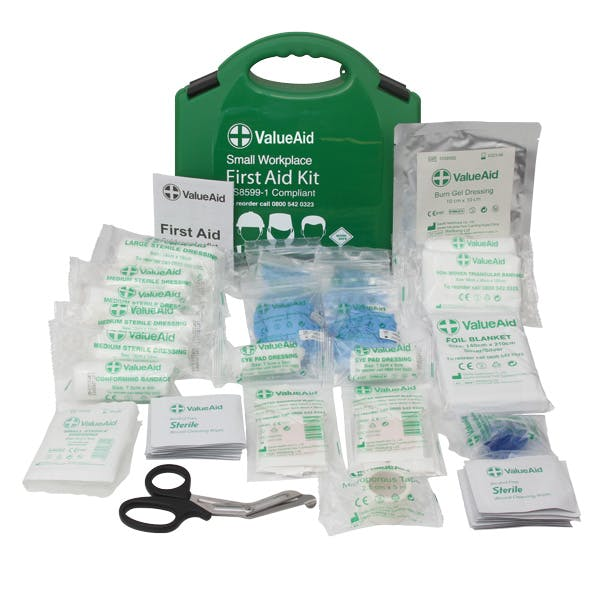BS8599-1:2019 Workplace First Aid Kits