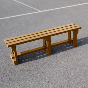 Backless Bench