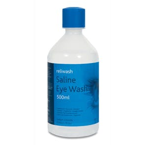 Sterile 500ml Eye Wash Bottles