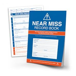 GDPR Compliant Near Miss Record Book
