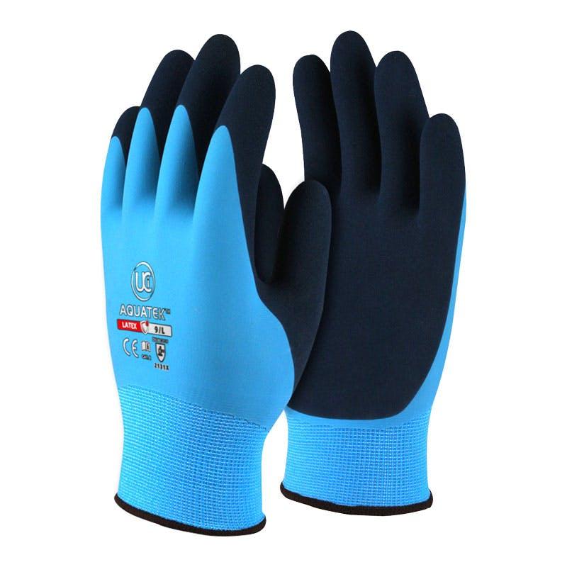 UCI Aquatek™ Dual Coated Latex Gloves