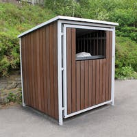 Multipurpose Storage Shelter - Recycled Plastic Cladding - With Roof