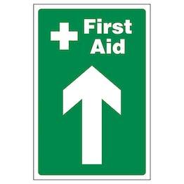 First Aid Arrow Up
