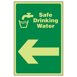 GITD Safe Drinking Water Arrow Left