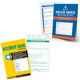 Accident Book & Near Miss Book Bundle