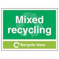 Waste Management Signs