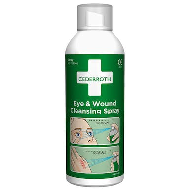 Cederroth Eye And Wound Cleansing Spray